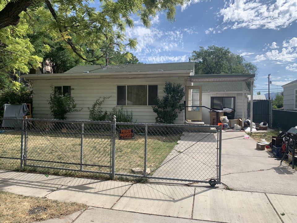 """Salt Lake City, UT - Purchased this Salt Lake City property in """"As Is"""" condition last month. The seller wasn't interested in doing any repairs to the home and was able to receive a fair cash offer."""