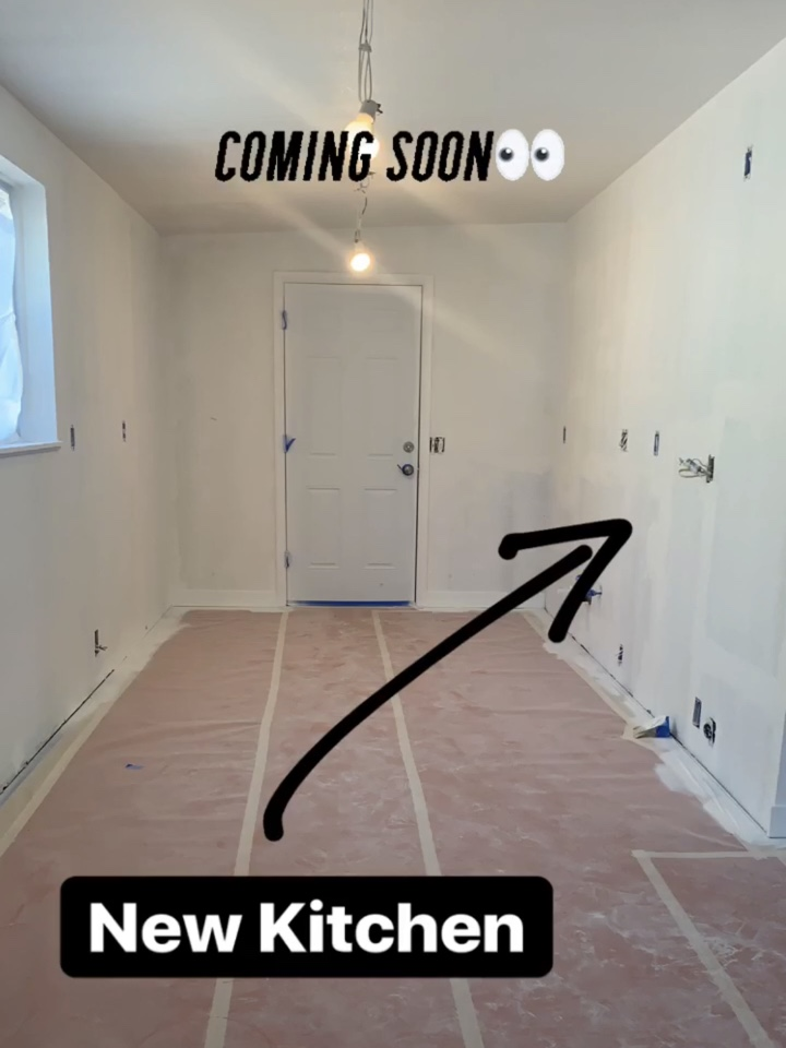 """West Valley City, UT - WE BUY HOUSES. Checking in on the progress of one of your properties we purchased """"as is"""" a few months back. The kitchen goes in next week!"""