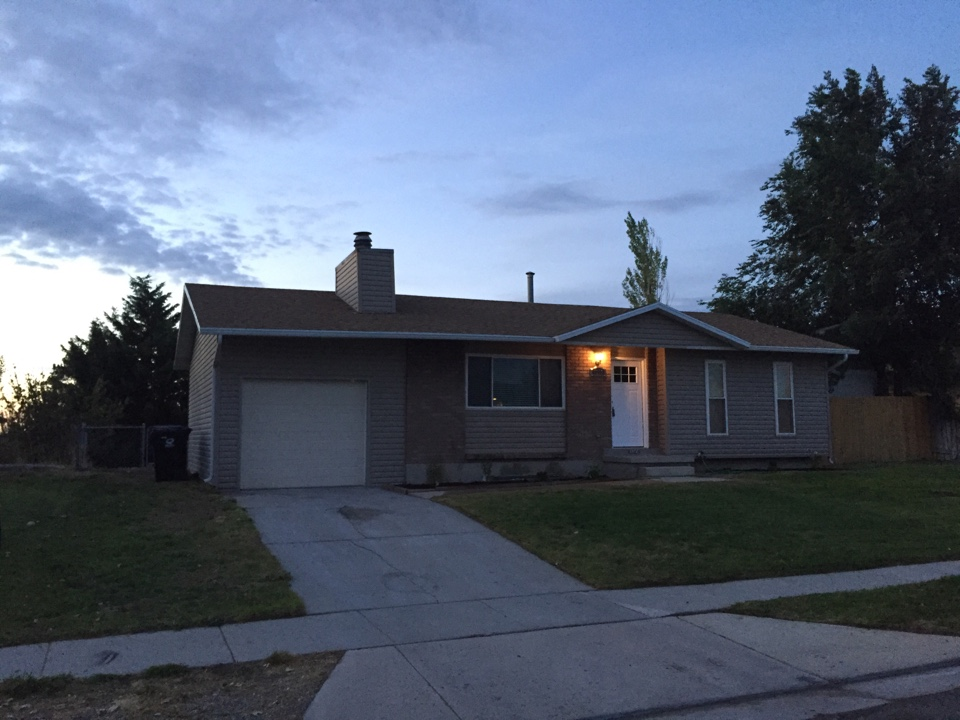 Magna, UT - Just finished with a rehab we paid cash in Magna, Utah. It's going on the market tomorrow.