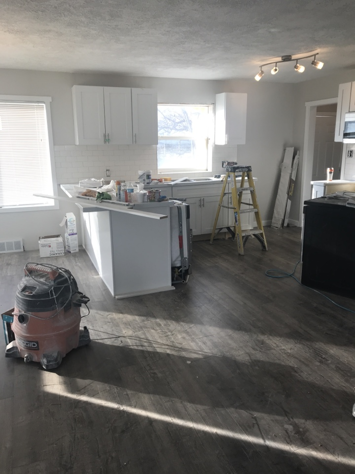 Riverton, UT - Finishing touches for a house we bought CASH